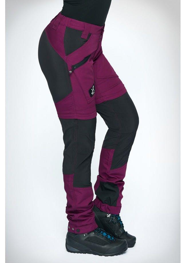 nordwand-pro-zip-off-pants-dam-purple-rain